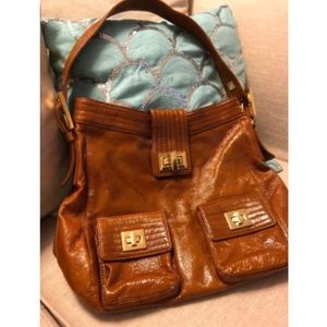 Beautiful Kooba Caramel Hobo Shoulder bag